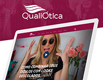 QualiÓtica. Website development