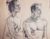 Sketchbook Figure Drawings