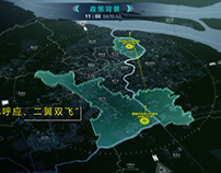Data visualization for Shanghai city government