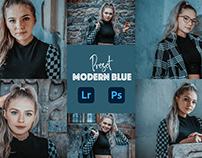 Modern Blue Photoshop Preset