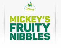Mickey's Fruity Nibbles - Packaging
