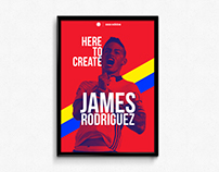 Adidas Colombia / James Rodríguez / Here To Create