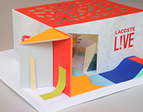 Pop-up store Lacoste L!VE
