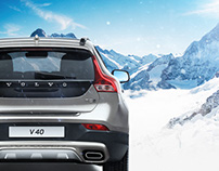 Volvo V40 promo page