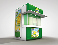 Dettol Hajj Campaign Promotional Stand