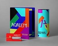 Aqalem Brand Design.
