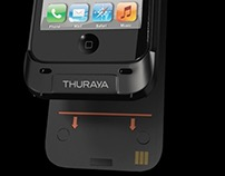 THURAYA SATSLEEVE // DOCKING YOUR IPHONE