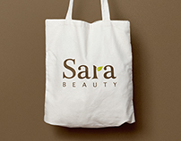 Sara Beauty logo design