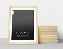 Framed Picture Mockup