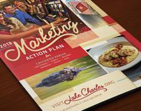 SWLA CVB Marketing Plan Covers | Print Design