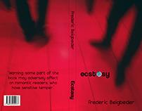 """Book cover/Frederick Beigbeder """"Ecstasy"""""""