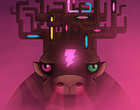 Ciervowie - Poster