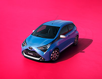 Toyota Aygo with Rick Guest