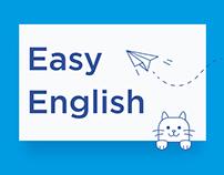 Easy English landing page