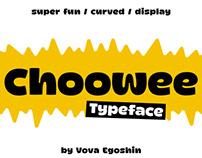 Choowee typeface
