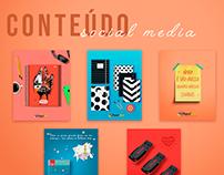 Conteúdo e Social Media | Papelarte Itapeva