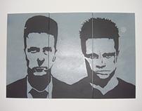 fight club stencil