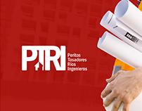 Peritos Tasadores Ríos Ingenieros / Branding