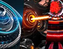 3d Element Oscar Creativo