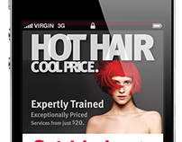 Cool Hair, Great Price (Mobile Campaign)