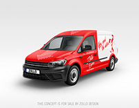 Express Delivery Van Design by Zollo