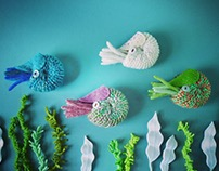 Nautilus Brooches