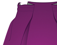 CAD: Stylized Flats - Skirts