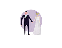 LAVENDER WEDDING | rustic style wedding