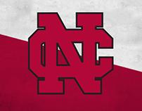 '15-'16 NCC Athletics Social Media Visual System