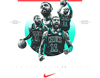 Nike Poster (Spoof) | NYSMNYD | Kyrie Irving #11