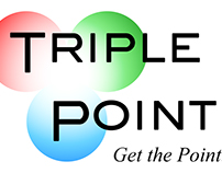 Triple Point branding, logo, and website