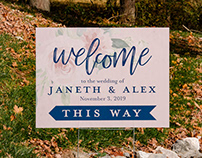 Wedding Typesetting: Alex & Janeth