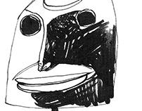 8 drawings