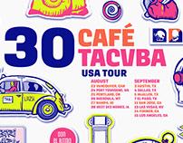 Café Tacvba 30 Tour Poster