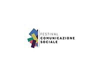 Logo per il festival della comunicazione sociale