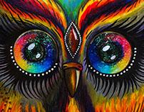 Color owl