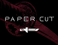 """Paper Cut"" Type Face Mock Up"