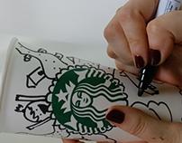 Starbucks Doodles