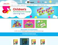 kiazpora.com Children Books Ecommerce Website