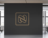 N logo design