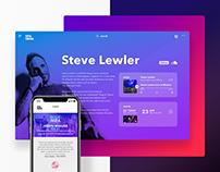 Viva Music - Brand Concept Website