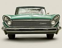 Serie ilustraciones - Autos clásicos