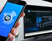 Mercedes-Benz Autonomous Driving / Shazam Project