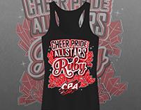Cheer Pride Allstars - Ruby Tank Top