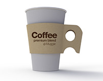 MUGGIE : disposable cup sleeve 1