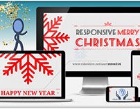 Responsive Christmas Greetings! - Holiday After Effects