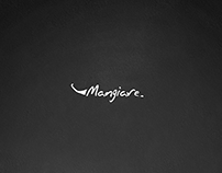 """""""Mangiare"""" restaurant logo design"""