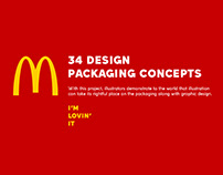 34 DESIGN PACKAGING FOR MCDONALD'S