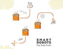 Logo & Brand-board 4SmartRobots
