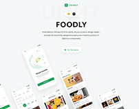 Foodly iOS UI Kit